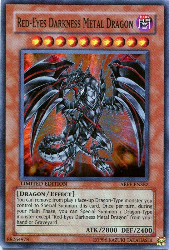 ダークネス メタル ドラゴン レッド アイズ